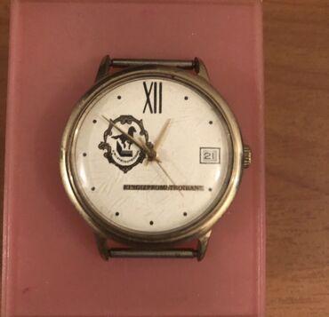 Часы мужск наручные 1 Моск час завода 90 х годов в отл рабоч сост н