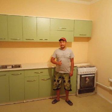 царапины на кухонной мебели в Кыргызстан: Мебель на заказ.  Кухонный гарнитур.  #кухня #мебель #бишкек