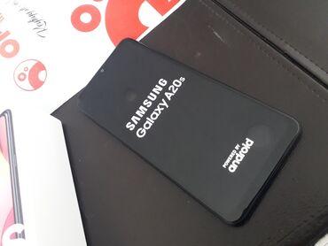 Samsung A20s 32 GB qara