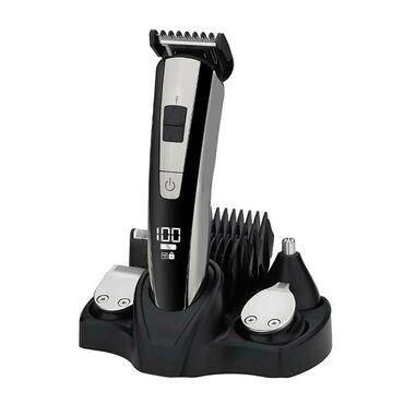 NK-2555 5 в 1 LCD Дисплей Многофункциональное Волосы Триммер