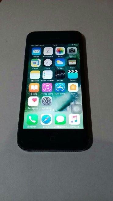 Iphone 5j, состояние отличное, память 16гб, работает идеально, не РЭФк в Бишкек