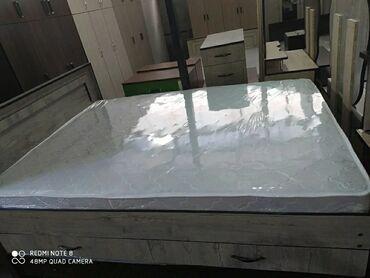 Новые двухспальные кровати с выдвижными ящиками для белья 11000 сом с