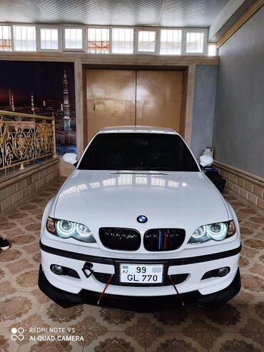 2002 bmw - Azərbaycan: BMW 3 series 2.2 l. 2002   160000 km