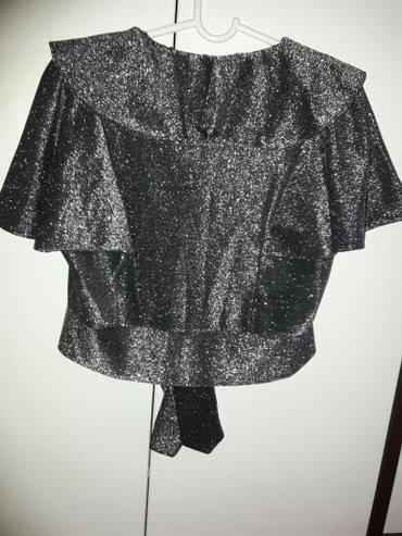 Ženska odeća | Sremska Mitrovica: CA bluzica sa sljokicama velicina L kao novo