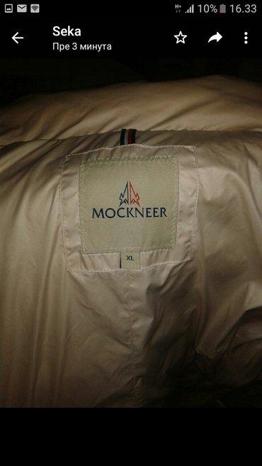 Prelepa perjana jakna,pravo krzno od rakuna xl vel. - Kraljevo
