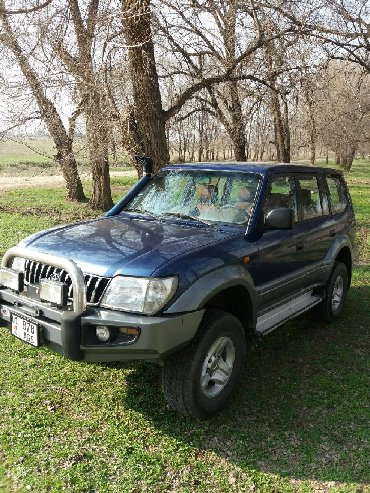 автомобиль toyota venza в Кыргызстан: Toyota Land Cruiser Prado 2002