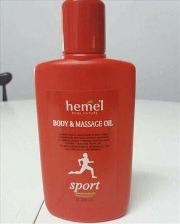 Sport ulje za negu imasazu - HemelSadrži aktivne komponente biljnog
