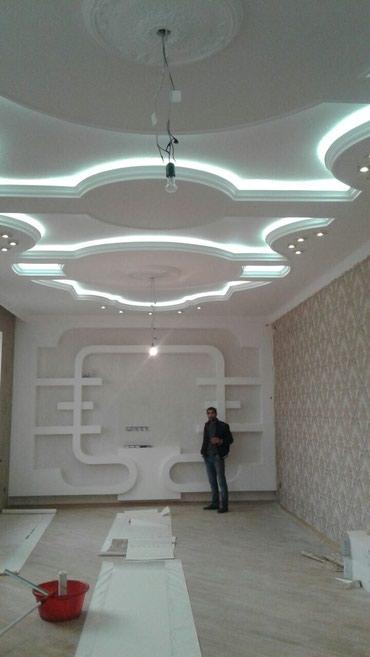 Gəncə şəhərində Gence şeheri.... Evlerin evro stilde temiri dizaynla pataloklarin yigi