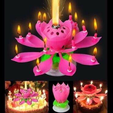 Lotos Flower Candle- Magična rođendanska svećaCena 890 dinara Оцењено