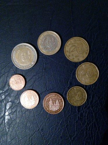 Набор монет евро Испании. в Бишкек