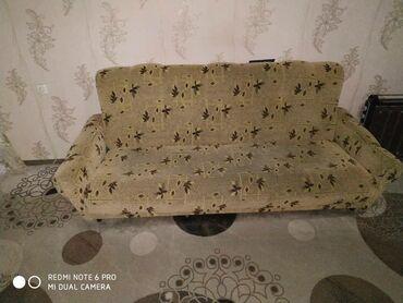 tkan dlja obivki kuhonnoj mebeli в Кыргызстан: Мягкая мебель. Состояние очень хорошее. Диван и 2 кресла. Диван раскл