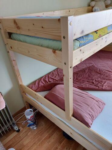 Krevet na sprat - Srbija: Na prodaju deciji krevet na sprat. Dimezije gornjeg kreveta su a