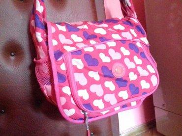 Roze zenska torba za skolu/sport. - Pirot
