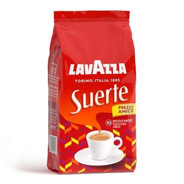 Tea peci - Srbija: LAVAZZA Suerte espresso kafa u zrnu 1KG Mekoća i intezivnost su glavne