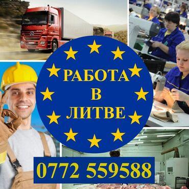 работа на заводе в бишкеке в Кыргызстан: Работа в литве (легальное трудоустройство)разрешение: no 000443по
