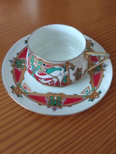 тарелка блюдце в Кыргызстан: Блюдце и чашка. Санкт-Петербург императорский форфоровый завод. Очень