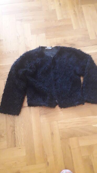 Bundice - Pozarevac: Teddy crna bundica jakna, vel od M do Xl (takav je model).Ramena 42