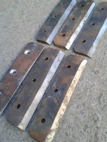 дробилка для сена в Кыргызстан: Ножи на дробилку. Или сено -. овощерезку. Новые. 6 Штer. Длинна : 13