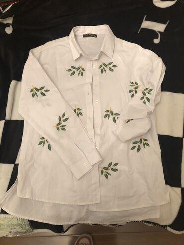 платья рубашки на пляж в Кыргызстан: Продаю Новую Рубашку  Турция хб размер s