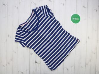Жіноча смугаста футболка Colins, р. М    Довжина: 57 см Напівобхват гр