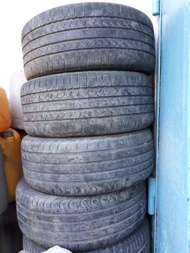 Продаю шины летные 275. 45. 19.  60%остаток в Кызыл-Кия