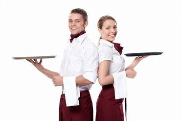 Требуется официанты с опытом, со знанием турецкого языка, серьёзные