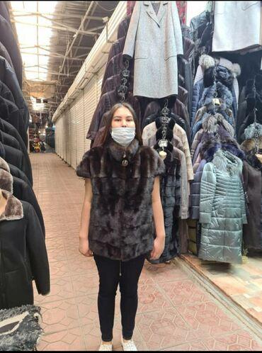 odin raz odevala na vypusknoj в Кыргызстан: Продаю новую норковую жилетку,покупала за 450$ месяц назад,срочно