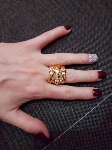 Красивое кольцо,размер 18 мм в Лебединовка