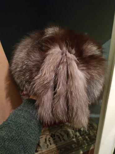 шапку женскую чернобурка в Кыргызстан: Продаю шапку меховую