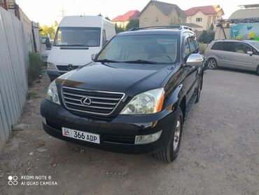 Lexus в Кыргызстан: Lexus GX 4.7 л. 2007   111111 км