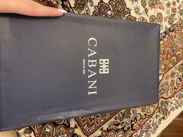 Cabani-Klassik ayaqqabi-Yeni-43 azn. -Temiz deri. Endirimle 70 azn
