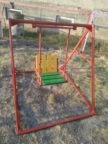 деревянные игрушки буратино в Кыргызстан: Качели для детей!!! небольшие, но очень удобные и безопасные!