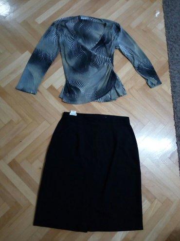 Suknja patrizia - Srbija: Xl, kao nova, bez ostecenja i fleka, iz engleske, wallisduzina 60 cm