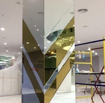Зеркальные и стеклянные плиты в Бишкек