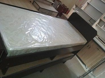 Односпальный кровать 1.90*80 с матрасом, в Бишкек