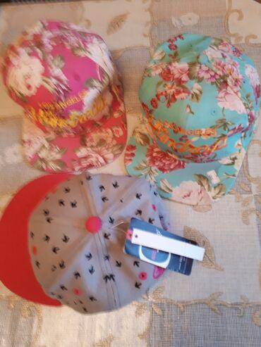 """Женская одежда - Кыргызстан: Фирм.Кепки """"hundreds"""" шорты dolce gabbana и сумки все для девчек на"""