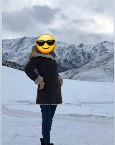 вечерние платья коричневого цвета в Кыргызстан: Дублёнка турецкая натуралка.Реальному клиенту сделаю скидочку. Коричне