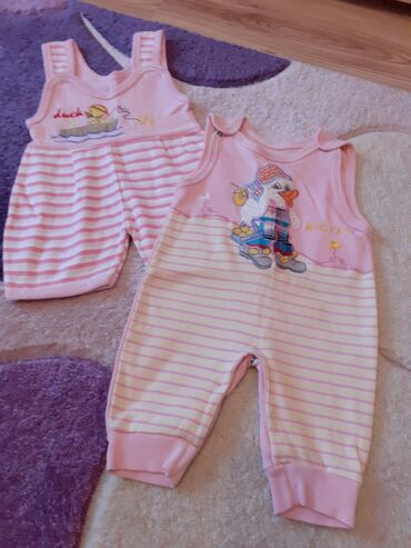 Ostala dečija odeća | Kovilj: Letnje zekice za bebu 3-4 meseca ocuvano! Oba 300!