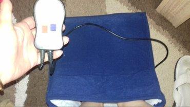 Masazer za noge na struju ,dve brzine + vunene navlaka za  grejanje - Paracin