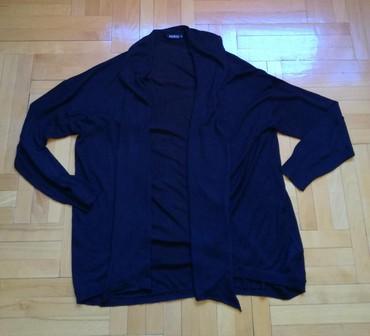 Ženska odeća | Bajina Basta: Crn kardigan Janina velicina 46. Odgovara za xl, xxl