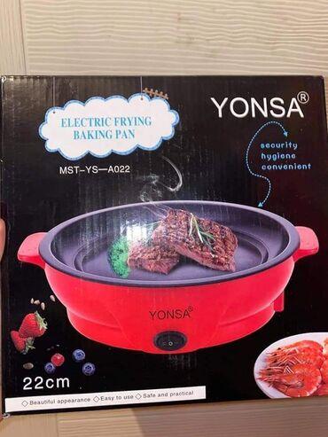 Električni tiganj je jednostavan za korišćenje, hranu priprema brže u