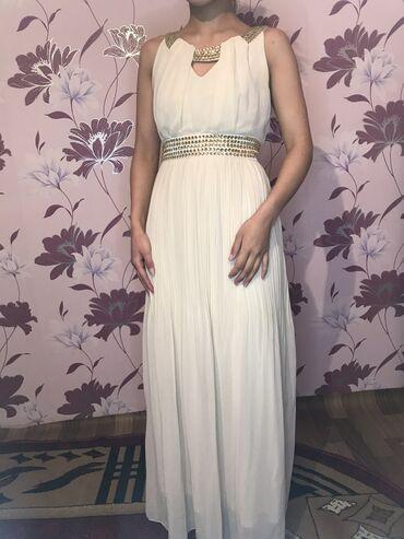 Платье цвета айвори. Размер S,M. Одевала пару раз, состояние отличное