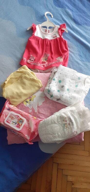 Esarpe marame - Beograd: Start paketi za bebu. sadrzi cebencemaramice,kompletic,tetra pelene