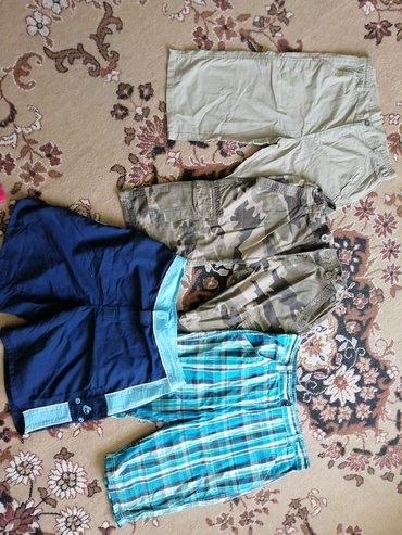 Muška odeća | Rumenka: Deciji muskie bermude za uzrast 14, 15 god.Cena svakih 400 din