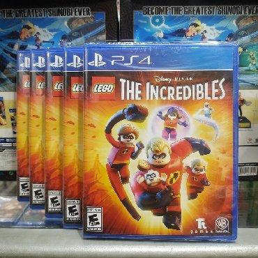 PS4 (Sony Playstation 4) Azərbaycanda: Ps4 üçün legotheIncredibles oyunu. Tam bağlı upokovkada orginal