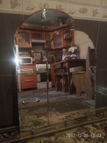 зеркало настенное  в  ванную  комнату. ширина  -65. высота  -90 в Бишкек