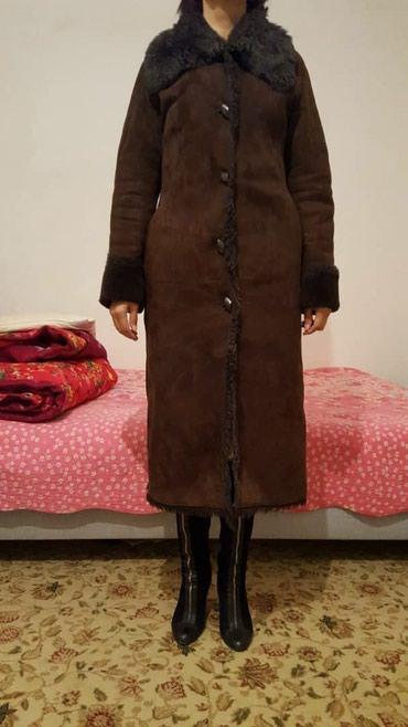 Дубленка натур.терецк.покуп.за 25000сом отдаю за 4000сом,размер44. в Бишкек