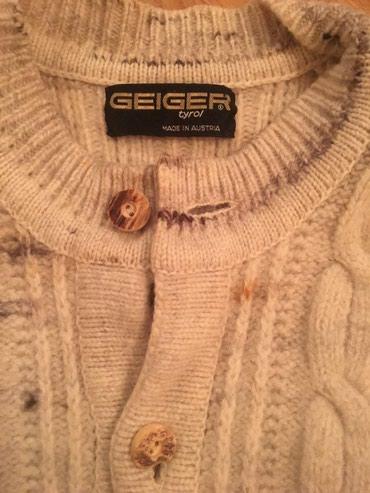 Kaput-vuna - Srbija: Geiger Dzemper VUNA!!!