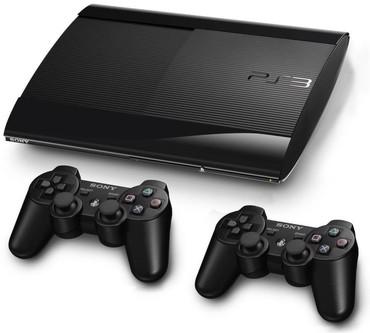 Bakı şəhərində Playstation 3 2 pult 30 oyun ve butun kabelerle bir yerde 230