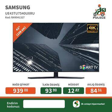 krosnu aparati - Azərbaycan: Salamlar Samsung smart 109 ekra Led krosnu aparati movcuddur Butun